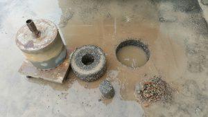 350 mm boor voor asbestonderzoek (2)